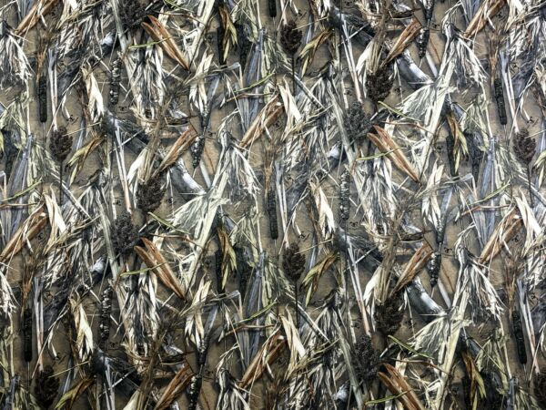Hunting Camo True Timber DRT Duck Blind Fabric 60quot;W Poly Soft Taffeta Camouflage