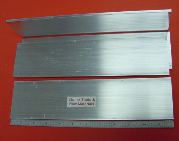 4 Pieces 3 16quot; X 3quot; ALUMINUM 6061 FLAT BAR 12quot; long Extruded Mill Stock $20.99