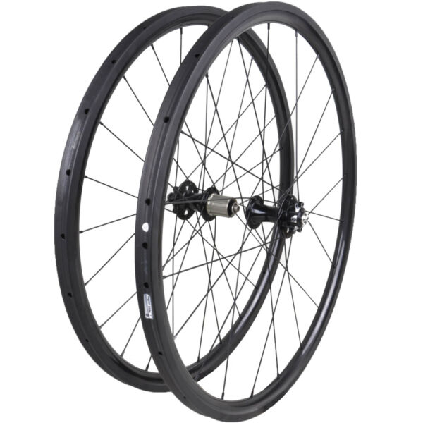 27mm width MTB carbon Tubular wheels UD matt mountain bike 29er MTB wheelset $425.00