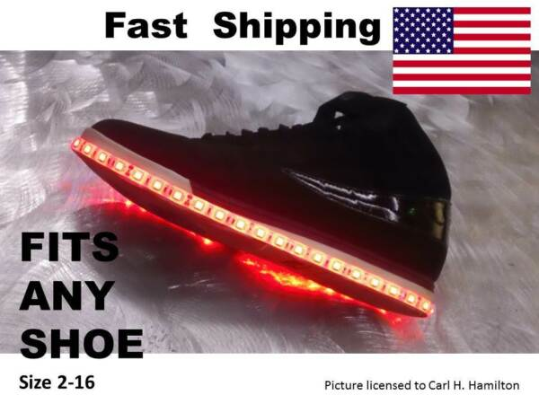 LIGHT up your Nike Wrestling Shoe will fit size 4 5 6 7 8 9 10 11 1