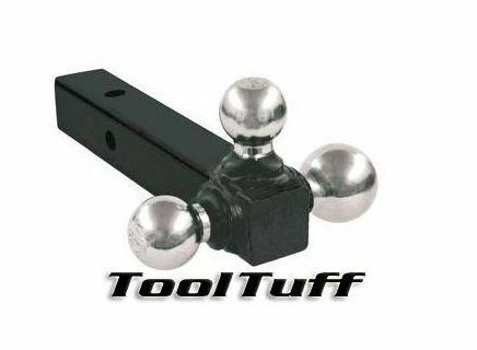 Tri Ball Hitch 3 way Solid Shank 1 7 8 2 2 5 16 in Triple Towing Ball Mount $35.00