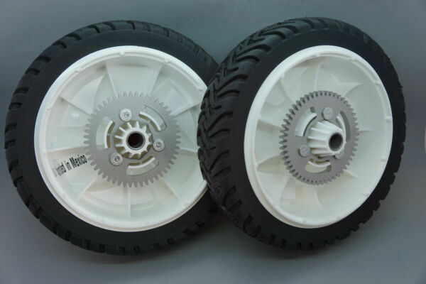 GENUINE OEM TORO 105 3036 WHEEL GEAR ASSEMBLY SET OF 2 ; RWD RECYCLER MOWER