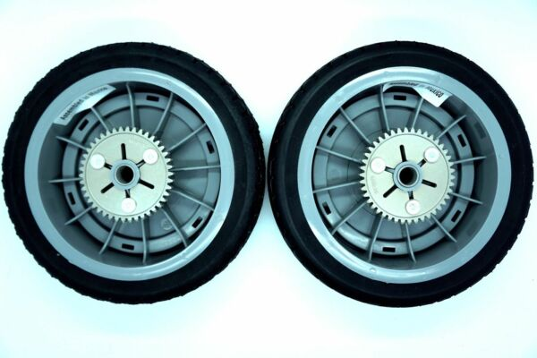 GENUINE OEM TORO PART # 98 7135 REAR WHEEL ASSEMBLY Set of 2 SUPER RECYCLER