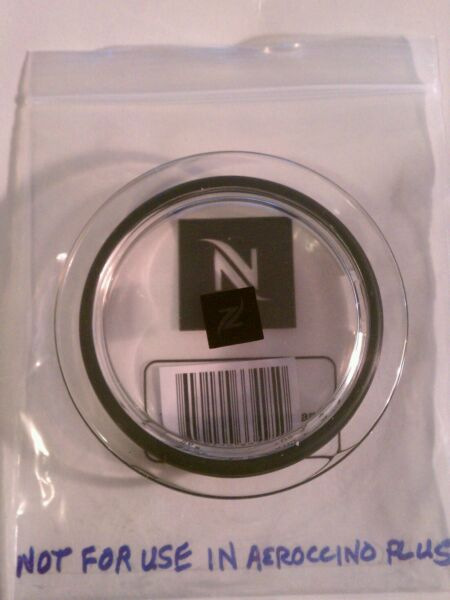 NESPRESSO AEROCCINO 3 CITIZ & MILK FROTHER #31934 Replacement Lid & Gasket NEW