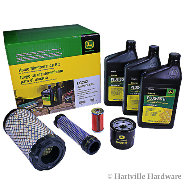 John Deere Original Equipment Home Maintenance Kit #LG243