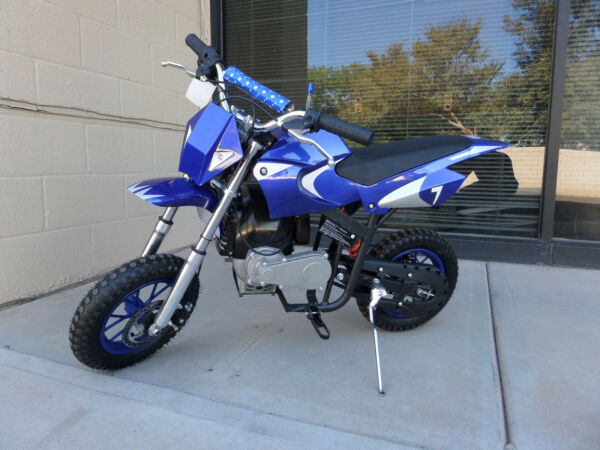 Brand New High Performance 4 Stroke 40cc Blue Mini Dirt Bike $479.00