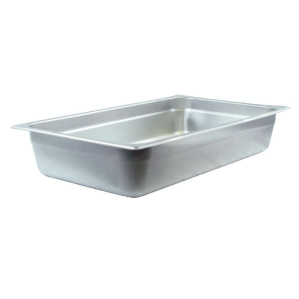 Full Size 4quot; Deep Stainless Steel Hotel Food Pan for Chafing Dishes Bonus Rebate