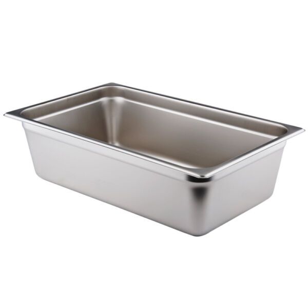 Full Size 6quot; Deep Stainless Steel Hotel Food Pan for Chafing Dishes Bonus Rebate
