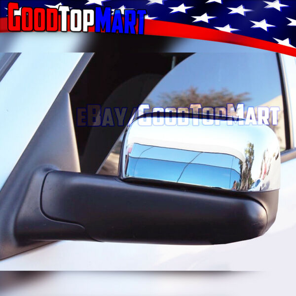 For Dodge RAM 2002-03 04 05 06 07 2008 Chrome Top TOWING Mirror Style Covers
