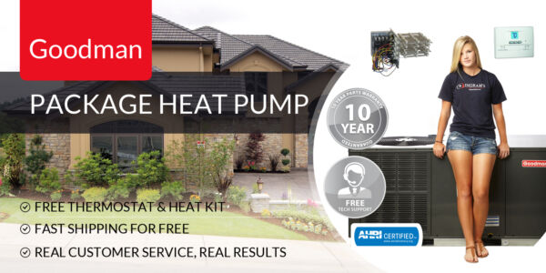 5 Ton 14 Seer Package Heat Pump Goodman GPH1460M41