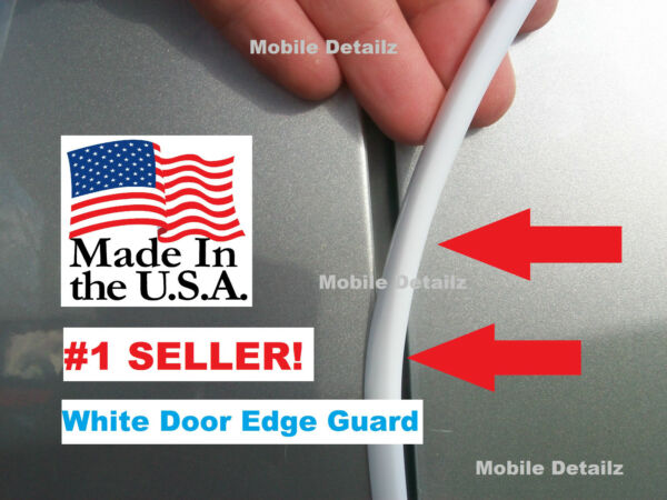edge TRIM (made in the USA!) CAR TRUCK SUV GLOSS WHITE DOOR EDGE GUARDS