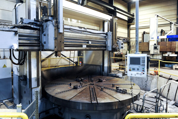 Vertical turning lathes TITAN CNC Heindenhain 620