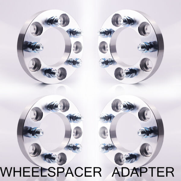 4 Wheel Spacers Adapters 5x5 to 5x4.5  1