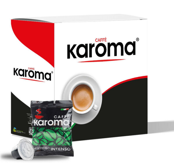 120 Karoma Capsules Compatible Nespresso Machines Intenso Strong Blend
