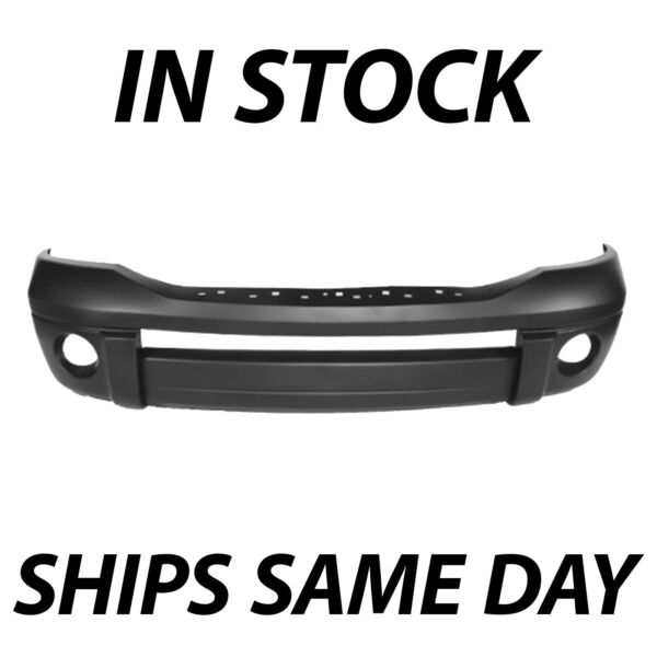 NEW Primered Front Bumper Cover Fascia for 2006 2009 Dodge Ram 1500 2500 3500