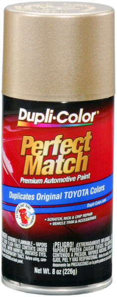 Dupli-Color® Perfect Matc BTY1596 Cashmere Beige Metallic Toyota  Auto Paint 8oz