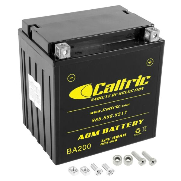 AGM Battery for Polaris Sportsman X2 800 EFI 2007 2008