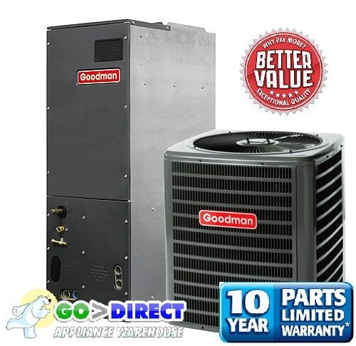 Goodman 3 Ton 16 SEER Heat Pump Split System GSZ160361
