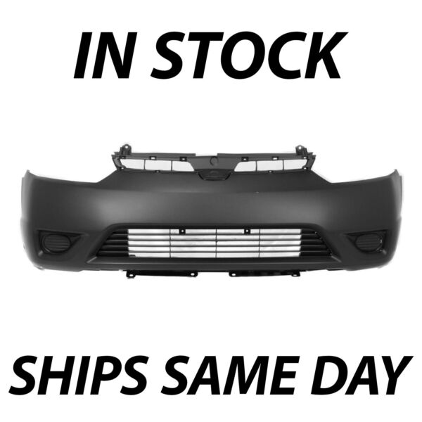 NEW Primered Front Bumper Cover Fascia for 2006 2007 2008 Honda Civic Coupe