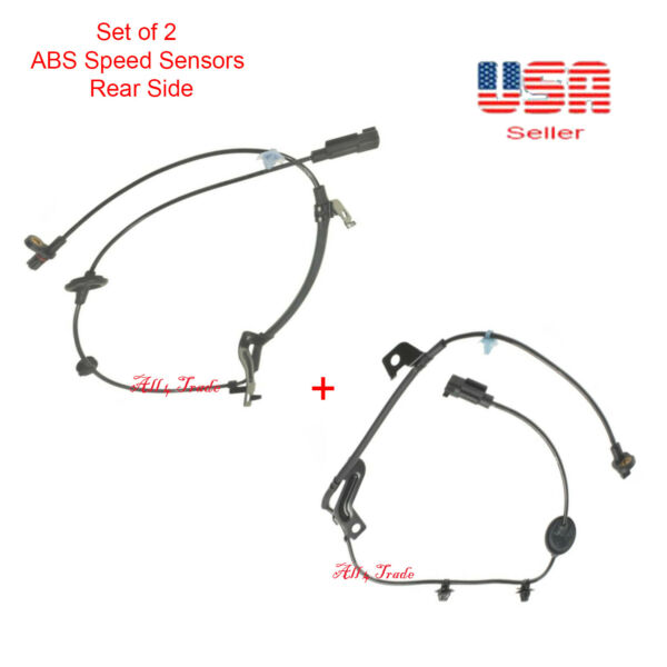 2ABS Wheel Speed Sensor Rear LeftRight For FWD Caliber Jeep Compase Patriot