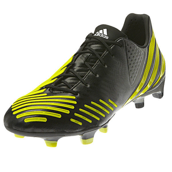 adidas Men's Predator LZ TRX FG Black/Neo Iron Metallic/Lab Lime V20976