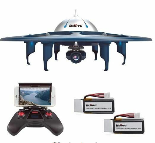 U845 WiFi FPV 2.4G Phone Remote Control Udi RC Quadcopter Drone UFO W/ HD Camera
