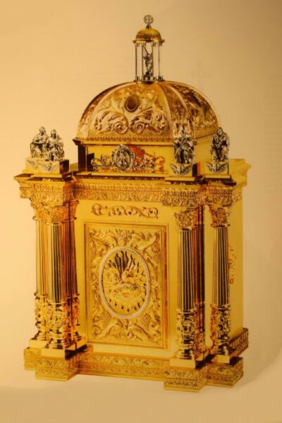 + Large Baroque Cathedral Tabernacle + 50