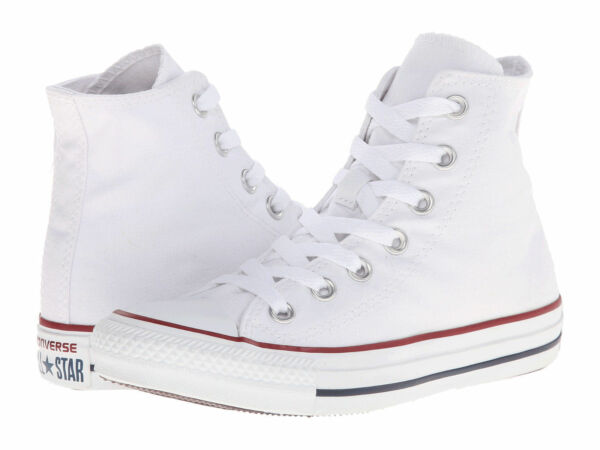 NEW MEN WOMEN CONVERSE ALL STAR OPTICAL WHITE HI M7650 ORIGINAL SO AWESOME