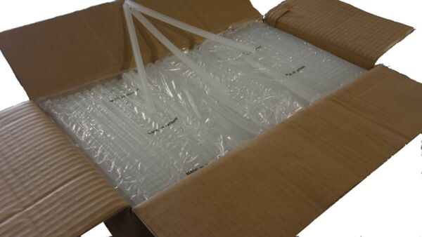 """Clear Hot Melt Glue Sticks case with 22.5 lbs all purpose low cost 1 2"""" x 10"""" $73.00"""