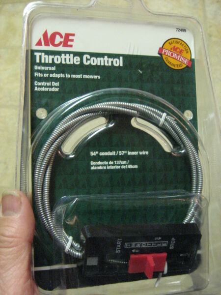 ACE Lawn Mower Snow Blower Small Engine Universal Throttle Control 54
