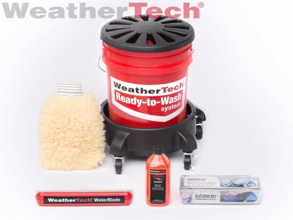 """WeatherTech TechCare Ready to Wash """"Just Add Water"""" Complete Set"""