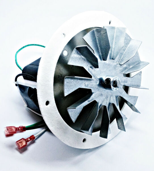 Heatilator Eco-Choice Pellet Stove Combustion Exhaust Fan Motor Kit + 4 34