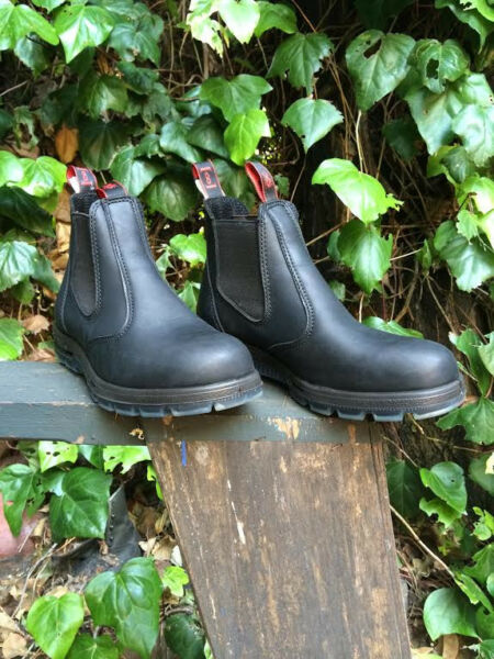 Redback 6quot; Black Steel Toe