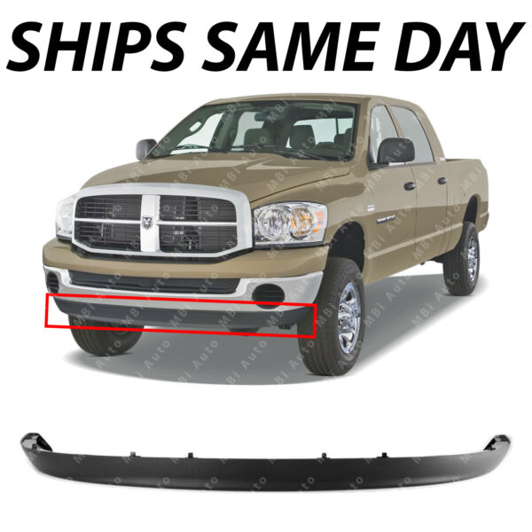 NEW Lower Front Bumper Air Deflector for 2002 2009 Dodge RAM 1500 2500 3500