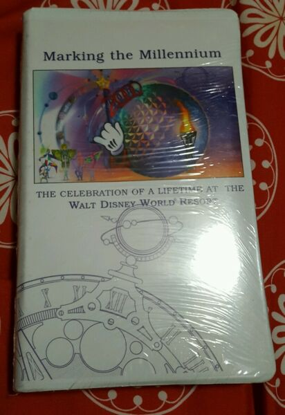 Disney Marking the Millennium. RARE. VHS Tape. EPCOT ONLY. BRAND NEWSEALED