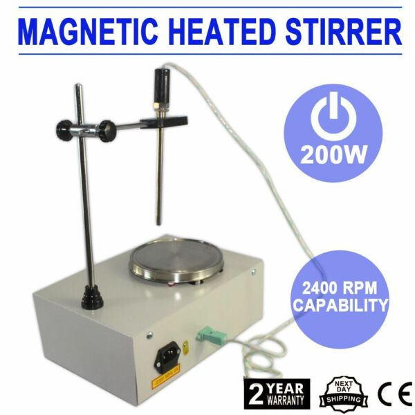 2000ml Hotplate with Magnetic Stirrer Constant Temperature Stirrer Mixer Heater