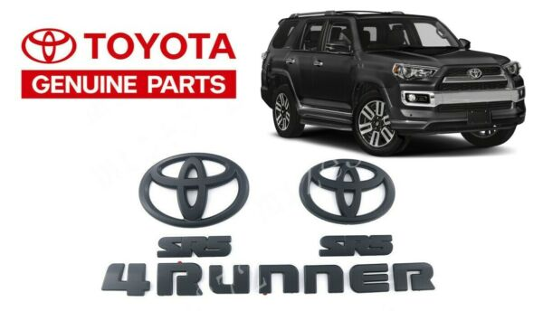 00016-89016 Genuine OEM Toyota 2010-2018 4Runner Black Out Overlay Kit