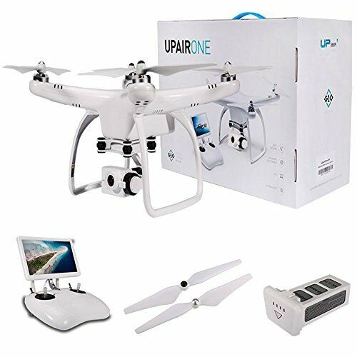 UPair One Drone with 2K Camera,5.8G FPV Monitor Transmit Live Video,2.4G Remote
