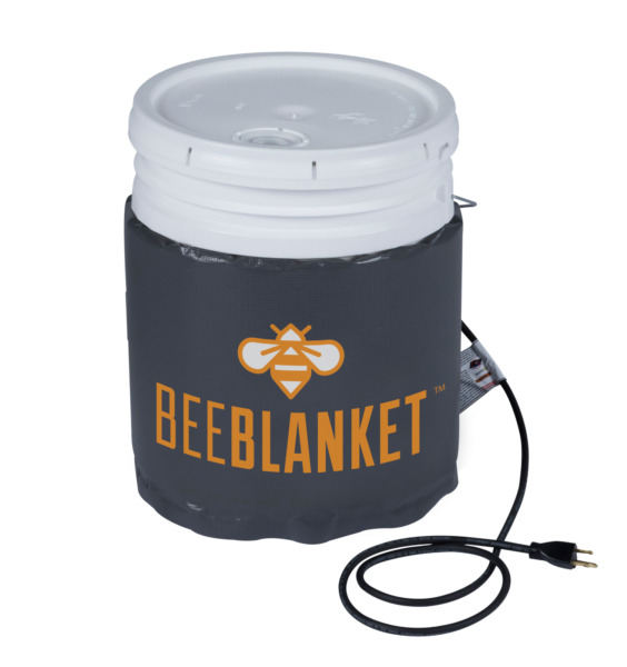Honey Heater - Pail Heater - Powerblanket BB05 - Bee Blanket 5 Gal Pail Heater