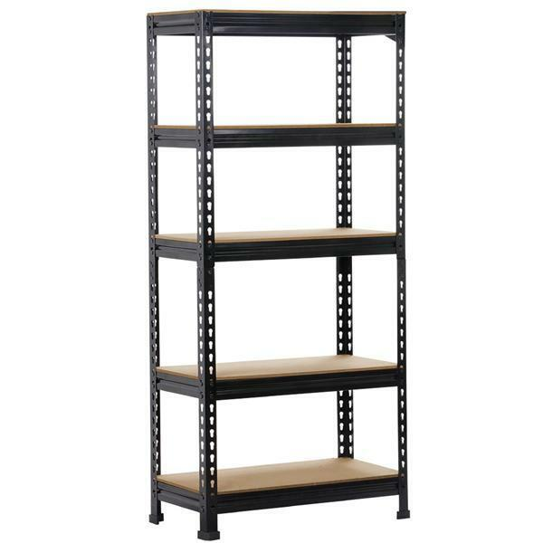 Heavy Duty Steel 5 Level Garage Shelf Metal Storage Adjustable Shelves Unit New $57.99