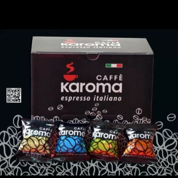 Espresso Capsules Compatible Nespresso Machines Karoma 15 Flavors Mix and Match