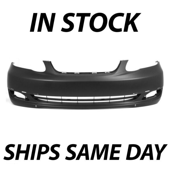 NEW Primered Front Bumper Cover for 2005 2006 2007 2008 Toyota Corolla S XRS $93.88