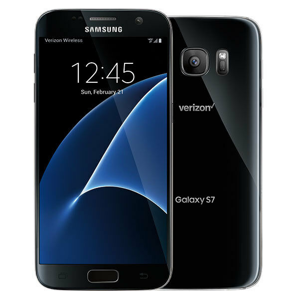 NEW Samsung Galaxy S7 SM-G930V - 32GB Black Verizon & GSM Network Unlocked