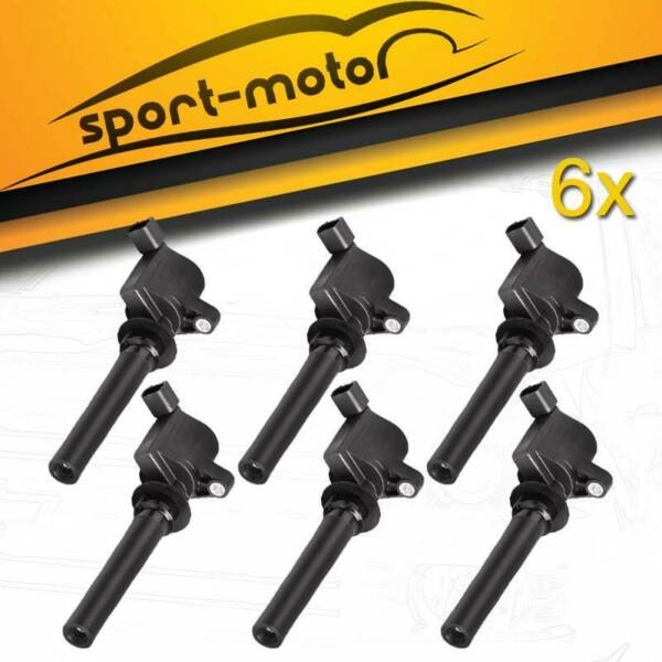 Ignition Coil 8 Pack For Ford 4.6L 5.4L F-150 XL F250 F450 4.6/5.4L FD503 DG508