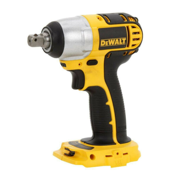 DEWALT 18V Cordless 1/2 in. Compact Impact Wrench DC820B New - Bare Tool