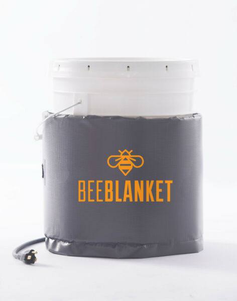 BB05-240V - Bee Blanket 5 Gallon Pail Heater wFixed Thermostat 110°F 240V 120