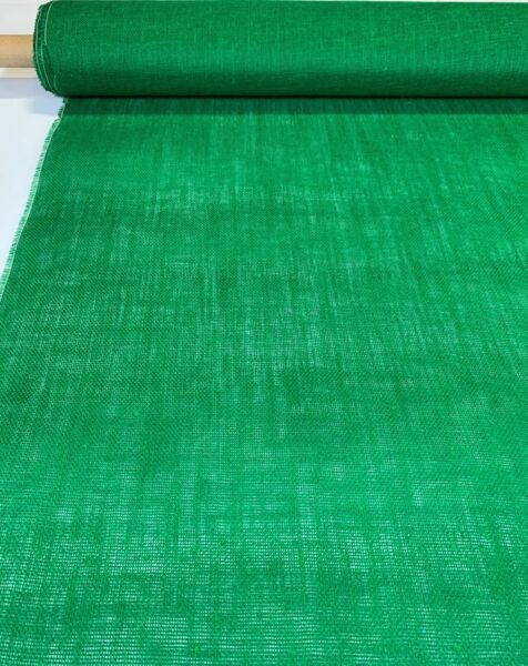 Emerald Green Burlap Jute Fabric 46quot; W 10 Oz Premium Upholstery By The Yard