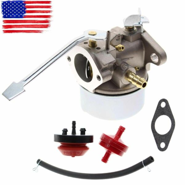 Carburetor Carb Kit For Tecumseh 640086 640086A 632641 632552 3HP 2 Cycle Engine
