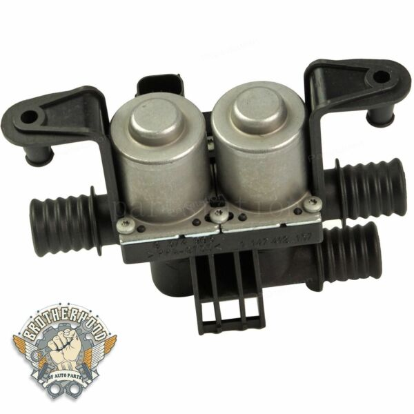 For BMW E39 E38 E53 5 7 series X5 Heater Control Valve Dual Solenoid 64128374995 $31.99
