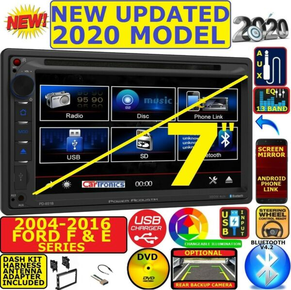 2004-2016 FORD F & E SERIES Bluetooth touchscreen DVD CD USB CAR RADIO STEREO